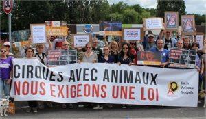 Manifestation à Epinay-sur-Orge