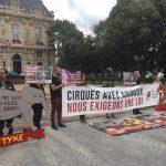 Manifestation à Ivry-sur-Seine