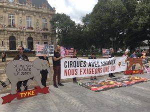 Manifestation à Ivry-sur-Seine (94)